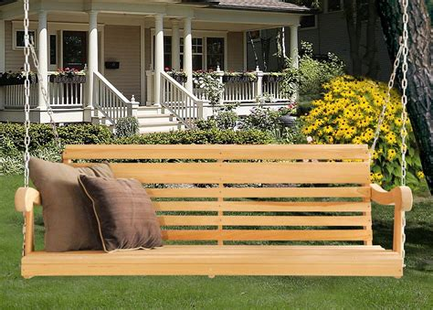 Wooden Porch Swings by Welcome To Porch Swing