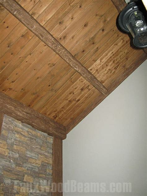 Look Ceiling Planks by 35 Best Images About Fauxwood Ceilings Beams On