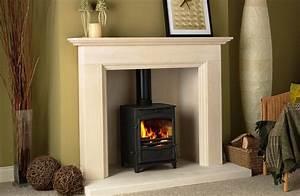 Wood, Burning, Fireplace, Surround, Ideas