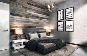 9, Modern, Industrial, Bedroom, Design, Ideas, For, Cool, Men, U2019s