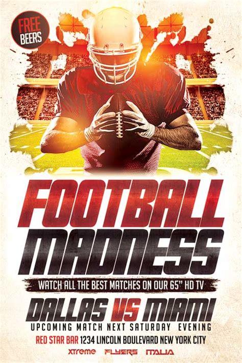 football flyer template psd  xtremeflyers