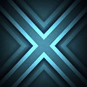 Pattern illustration blue cool   wallpaper.sc iPad