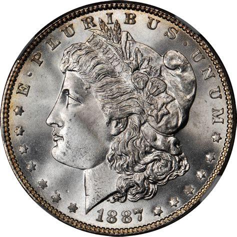 Value of 1887 Morgan Dollar   Rare Silver Dollar Buyers