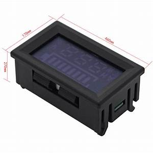Batterie Kapazität Berechnen : 12v blei s ure batterie kapazit t anzeige spannung meter led 6 120v auto ma395 ~ Themetempest.com Abrechnung