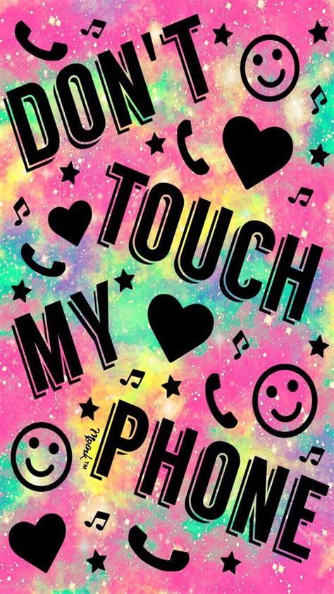 Dont touch my phone wallpapers. Best Wallpapers Dont Touch My Phone Full HD+ | mbaharga.com en 2020 | Fond d'écran téléphone ...