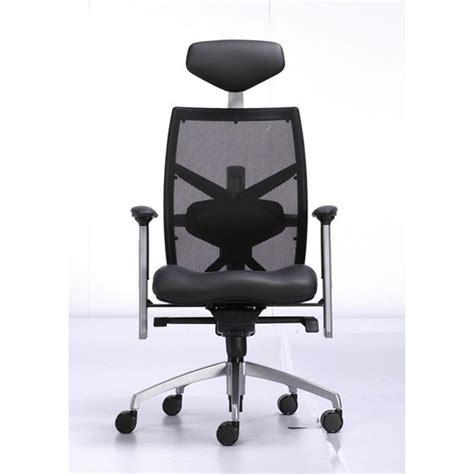 fauteuil de bureau quot techno quot cuir noir
