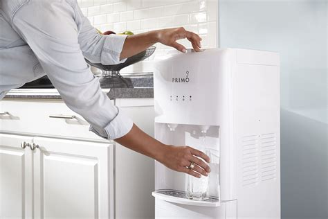 Primo White 2 Spout Bottom Load Hot And Cold Water Cooler