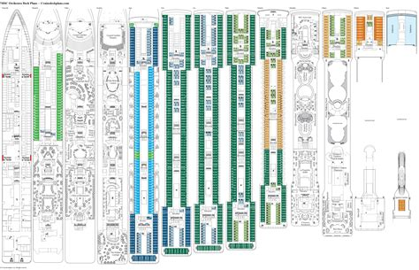 msc opera cabin layout msc orchestra deck plans diagrams pictures