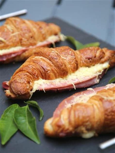 hams croissant and cuisine on