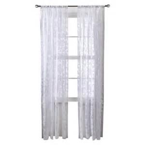 threshold botanical burnout sheer curtain panel target