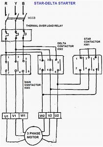 Wye Start Delta Run Wiring Diagram Air Compressor