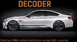 Bmw Vin Decoder Options by Bmw Vin Decoder