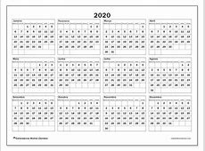 Calendário 2020 34SD Michel Zbinden