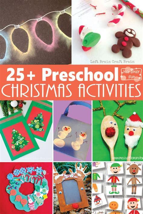 christmas crafts  activities  preschoolers