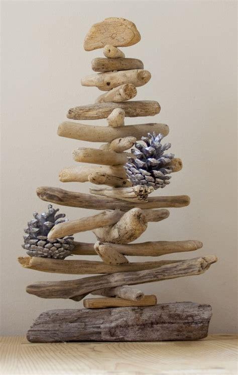 driftwood christmas tree ideas upcycle art
