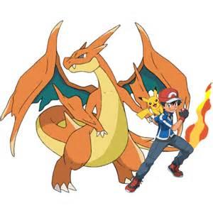 Pokemon X Y Ken Sugimori Art Mega Charizard Y