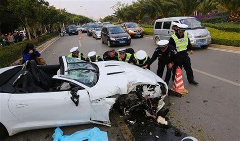 Fatal Crash Involving A Jaguar F-type In China
