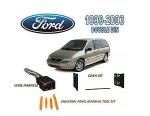 1999 Ford Windstar Wiring Harnes by Brand New 1999 2003 Ford Windstar Stereo Install Dash Kit