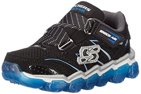 skechers kids light up shoes skechers kids 95104l boys skech air sneaker little kid