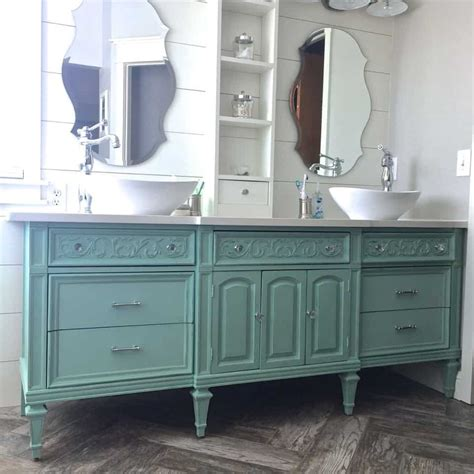dresser vanity guest post country chic paint blog