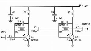 tv antenna preamplifier schematic get free image about With uhf tv preamplifier