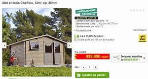 Abri De Jardin Bois 12m2 : abri jardin 12m2 bois l 39 habis ~ Voncanada.com Idées de Décoration