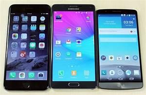 Compare: Galaxy Note 4 vs LG G3 vs iPhone 6 Plus