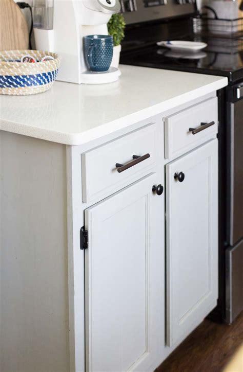 mixing metals kitchen hardware update making home base