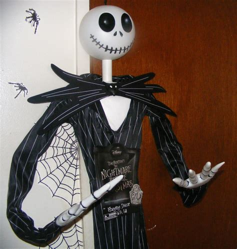6ft skellington nightmare before posable hanging prop decorations