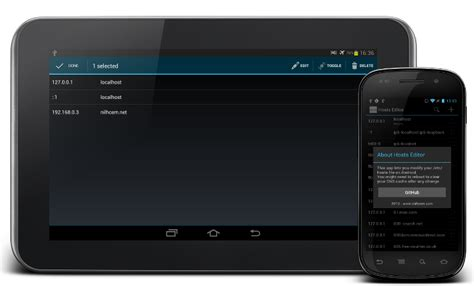 android file host github nilhcem hosts editor android hosts editor for