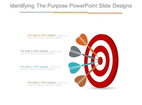 identifying  purpose powerpoint  designs
