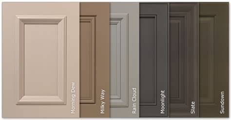 New SolidTone® (Paint) Colors Options for Kitchen Cabinets