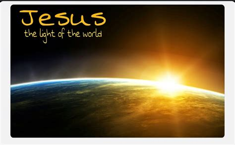 jesus is the light llm calling jesus the light of the world bible