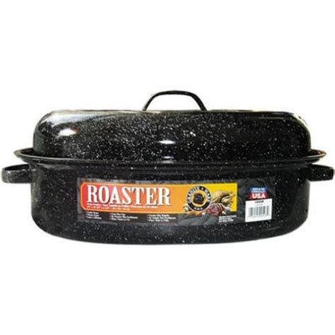 granite ware 0508 2 15 inch covered oval roaster fan