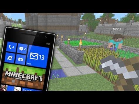 minecraft pocket edition v0 12 2 windows phone 8 1