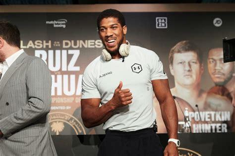 SecondsOut Boxing News - Main News - Anthony Joshua vs ...