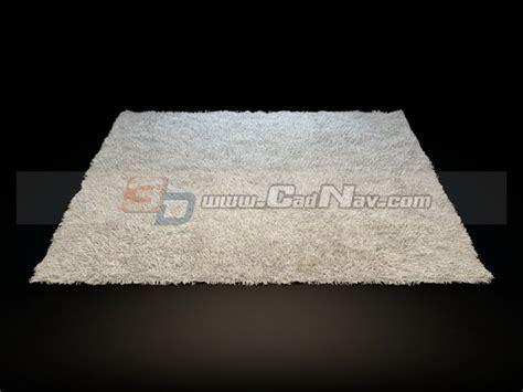Small bathroom rug 3d model 3dsMax files free download