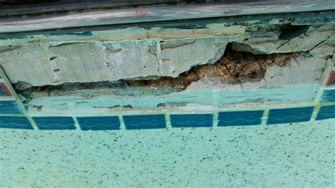 bond beam repair golden pool services pool remodeling