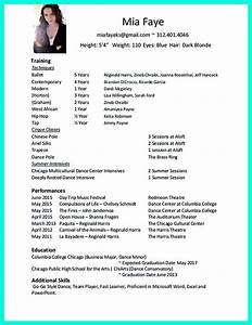 7 best dance career stuff images on pinterest cv format With dance resume format