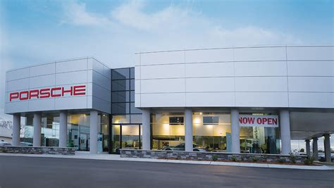 porsche dealership leith porsche expands with new showroom dealership in