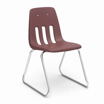 Chair Virco Series Sled Chairs Based Stack