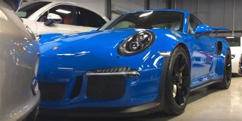 porsche blue gt3 voodoo blue porsche 911 gt3 rs makes gt silver metallic