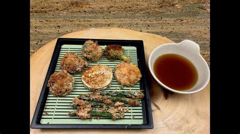 tempura air fryer fried recipe