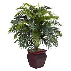 38 inch artificial areca plant in decorative planter 6686 nearly