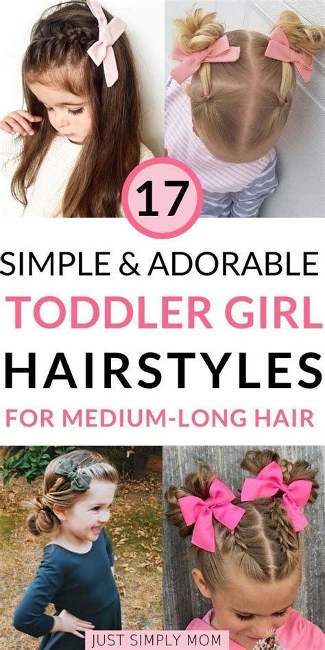 Cute Toddler Girl Hair Styles in 2020 Girls hairstyles