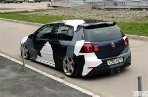 Cool camouflage Vinyl for VW Golf 5 - Cars One Love