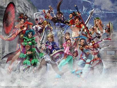 Soul Calibur Anime Fighting Background Arcade Namco