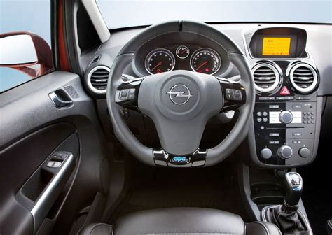 vauxhall corsa inside 2014 opel corsa review prices specs