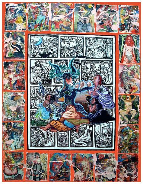 Sabbat sorcières Goya - Peinture inspirée du Sabbat des ...