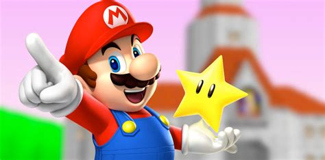 Animated Mario Wallpaper - why did nintendo choose illumination for the animated